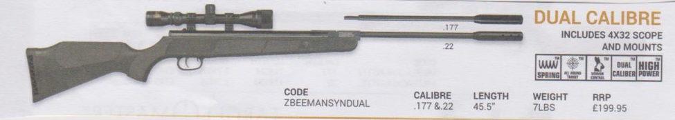 BEEMAN -Dual Calibre Rifle Image